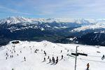 Der Snowpark in Laax ist einer der besten Snowparks in Europa. Foto: Martina Zollner