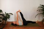 Yoga für MTB - Eka Pada Uttanapadasana