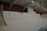 Wallride und Quarters in der Skatehalle Oldenburg