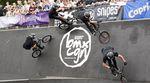 Hier ist unser Highlightsvideo von BMX Cologne 2014 mit den besten Tricks eines in vielerlei Hinsicht heißen Sommerwochenendes im Kölner Jugendpark.