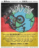 Hier findest du die Termine für die Deutschlandstopps der The Shadow Conspiracy X Subrosa World Tour 2016 mit Simone Barraco, Mark Burnett und Matt Ray.
