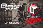 """Bei der kunstform Stock Session am 7. Dezember in Stuttgart werden die Gewinner der """"German Flatland BMX Championship""""-Contestserie 2018 gekürt"""