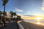 Die Strandpromenade von Puerto Vallarta