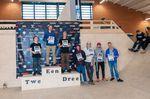 Die Gewinner der Klasse Amateure Men bei den German Open 2019 in der Skatehalle Oldenburg