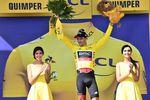 Greg Van Avermaet (BMC Racing) konnte seine Führung im Gesamtklassement verteidigen und behält das gelbe Trikot für die 6. Etappe. (Foto: © ASO)