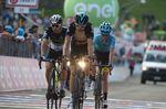 Für Geraint Thomas sah sich gezwungen, die Giro aufzugeben. (Bild: Sirotti)