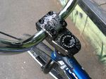 Der Sunchaser Stem ist eins der vielen neuen Signatureteile, die Daniel Juchatz von Mankind Bike Company spendiert bekommen hat