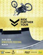 Der zweite Lauf der Ride Further Tour 2019 findet am 26. Mai auf dem Odeonplatz im Zentrum Münchens statt