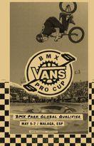 Der zweite Lauf zum Vans BMX Pro Cup 2017 findet vom 5.-7. Mai im Skatepark Ruben Alcantara in Málaga (Spanien) statt