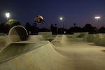 Session zu viert für 4vier Stunden und gefühlt nur 10% des Parks genutzt: Torben tuckt eine der ca. 5.000 Hips im wahnwitzig riesigen Fresno Bike Park