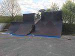 Der Vertwall im Skatepark Lohhof