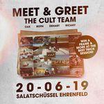 Am 20.6. ab 17 Uhr findet an der Salatschüssel in Köln ein Meet & Greet mit Dakota Roche, Kilian Roth, Chase Dehart und Sean Ricany von der Cult Crew statt.