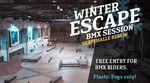 Winter Escape! Der kunstform BMX Shop und Subrosa spendieren euch vom 1. Dezember 2019 bis zum 5. April 2020 insgesamt 5 Sessions in der Skatehalle Berlin.