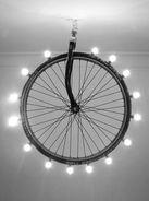 excessive bike wheel light