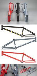 United-Dinero-BMX-Rahmen