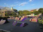Den BMX- und Skatepark an der Darmstädter Stadtmauer gibt es seit 1992
