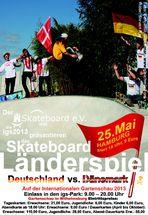 Skateboard Länderspiel