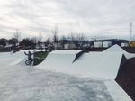 Jumpbox im Skatepark Frankfurt Kalbach
