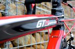 Wilier GTR, top tube, Enstone 2013, pic: Timothy John, ©Factory Media