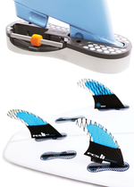 Safe Surfing Equipment: The new FCS II fin system