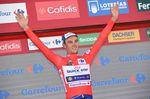 Mit seinem Etappensieg ging Lampaert, in Führung und übernimmt das rote Trikot. (Foto: Sirotti)