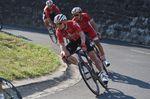 Greipel, hier auf der Abfahrt des Col De La Colombiere, entschloss sich zur Aufgabe, als er merkte, dass er das Zeitlimit auf der 11. Etappe nicht annähernd erreichen würde. (Foto: Sirotti)