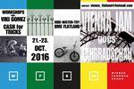 Der diesjährige Vienna Flatland Jam findet vom 21. bis 23. Oktober 2016 im Rahmen der Wiener Fahrradschau statt