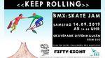Am 14. September 2019 findet im Skatepark Neu-Ulm/Offenhausen ein BMX- und Skatejam inklusive Cash for Tricks und anderen Spielen statt.