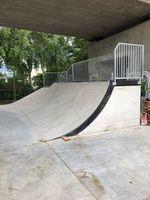 Quarterpipe im Skatepark Friedrichshafen