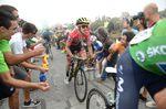 Simon Yates war mit seiner Leistung auf der 17. Etappe zufrieden und konnte seine Führung erfolgreich verteidigen. (Foto: Sirotti)