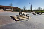 Handrails und Curbs en masse im Skatepark von Karlsruhe