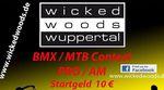"""Am 17. Dezember 2016 findet in der """"Wicked Woods""""-Halle in Wuppertal ein BMX- und MTB-Contest statt. Hier erfährst du mehr."""