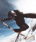Rider Ian Rocca im Mottolino Snowpark | Credit: Matteo Colombo