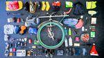 Ausrüstung auf der Tour durch vier Kontinente || Foto: Ed Pratt/Facebook
