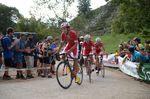 Jesus Herrada (Cofidis) befand sich in der falschen Gruppe, als das Peloton auseinanderbrach. Der Spanier kam über neun Minuten hinter Yates ins Ziel und verlor seine Führung im Gesamtklassement. (Foto: Sirotti)