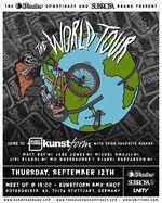 SAVE THE DATE! Den Stopp der Subrosa X Shadow World Tour beim kunsform BMX Shop in Stuttgart solltest du dir auf keinen Fall entgehen lassen!