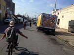 Das United-Team cruist durch die Straßen von New York