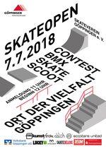 Beim Skate Open 2018 im Skatepark von Göppingen kannst du in den Disziplinen BMX, Skateboard oder Scooter an den Start gehen. Mehr dazu hier.