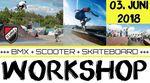 Am 3. Juni 2018 veranstaltet der SV Lohhof Rolling Wheels e.V. einen BMX-Workshop für Anfänger und Fortgeschrittene im Skatepark Lohhof. Mehr dazu hier.