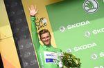 Typische Pose und Farbe Marcel Kittels während der Tour de France 2017. So wollen wir ihn vorerst in Erinnerung behalten!
