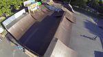 Das neue Set-up im Skatepark an der Darmstädter Stadtmauer ist fertig