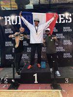 Die Gewinner des BMX-Flatlandcontests auf den Ruhr Games 2019 in Duisburg