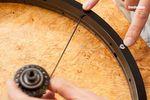 Ventilloch BMX Laufrad einspeichen