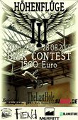 """Vom 27.-28.8.2016 findet im The Last Hole Skatepark von Hohenfichte der """"Höhenflüge III""""-Contest statt. Hier erfährst du mehr."""