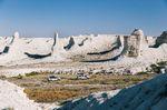 Die ersten Berge von Kirgisistan – Foto: Milo Zanecchia