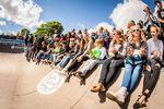 Das Publikum unterstützte die Finalisten des Minirampcontests beim Butcher Jam 2017 nach Leibeskräften