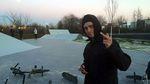 Bruno Hoffmann im Skatepark Frankfurt Kalbach