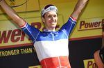 Arnaud Demare feiert seinen ersten Etappensieg. (Bild: Sirotti)