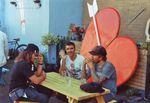 Darryl Nau, Ruben Alcantara und Joe Rich auf dem Battle of Hastings 2016 im Source Park