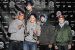Die Crew vom Lohhof Skatepark (v.l.n.r.): Thomas Stellwag und sein Sohn Mailo, Phillip Staudigl, Pietro Guagliata und Peter Sonnemann